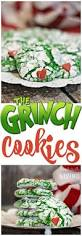 crinkly cranky grinch cookies recipe for kids classroom and