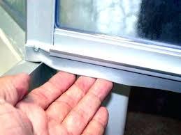 Shower Door Sweep Replacement Parts Shower Door Sweep Replacement Bi Fold Shower Door Sweep