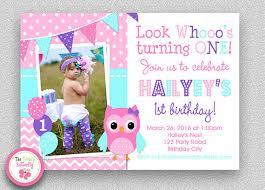 girls birthday invitation girls 1st birthday invitation pink