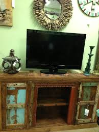 Distressed Wood Bar Cabinet Reclaimed Wood Media Console Cabinet Distressed Vintage Import