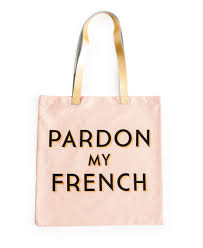 jazz age tote pardon my french tableware and home decor seattle wa