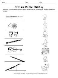 peter and the wolf worksheets and writing prompts u2013 the bulletin