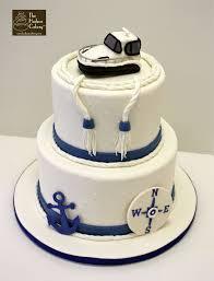 nautical wedding party nautical wedding cake the hudson cakery