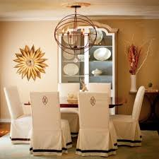 Dining Room Chairs With Slipcovers Dining Room Chair Slipcovers Home And Family