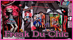 Halloween Monster High Doll Monster High Freak Du Chic Circus Doll House Rochelle Review Youtube
