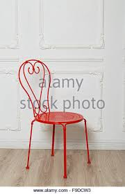Red Metal Chair Metal Chair Stock Photos U0026 Metal Chair Stock Images Alamy