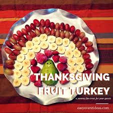 fruit thanksgiving turkey easy event ideas