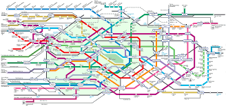 Tokyo Metro Route Map by Systems The Next Level