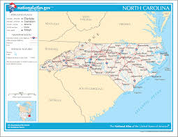 North Carolina Map Of Cities And Towns Map Of North Carolina Na 1 U2022 Mapsof Net