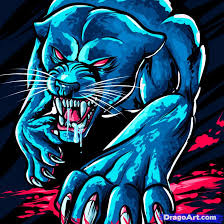 how to draw a panther panther by tattoos