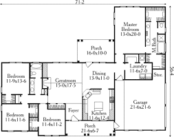 farmhouse style house plan 4 beds 2 00 baths 2093 sq ft plan
