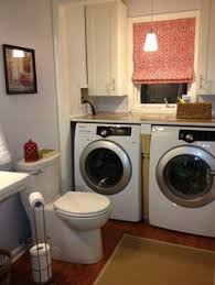 Bathroom Laundry Ideas Washer Dryer Under The Bathroom Counter No Shitty Little Vanity