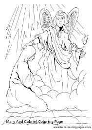 coloring page angel visits joseph angel gabriel coloring page medcanvas org