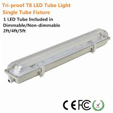 t8 tube light fixture t8 led tube lights with striped clear tri proof dust proof