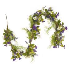green and purple garland 72 target