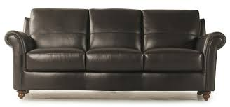 violino leather sofa price violino grady leather sofa with rolled arms and turned wood feet