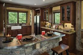 log home kitchen ideas log home kitchen design with nifty photos timber and log home