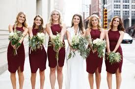 bridesmaid dress ideas marsala wedding color ideas 2015 hotref gifts