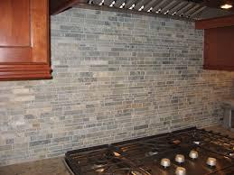 Project Showcase Kitchen Marble Brick Tile Backsplash - Brick backsplash tile