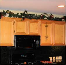 cabinet garland for above kitchen cabinets best above cabinet