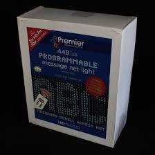 led programmable net lighting