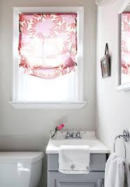 unusual master bathroom window treatment ideas in small window