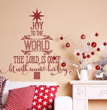joy to the world christmas decorations copy wall decals by