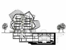 frank gehry floor plans frank gehry famous building drawing novartis building gehry