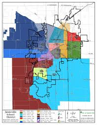 Beloit Wisconsin Map by Janesville District District Map
