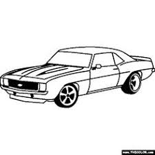 classic rod car coloring printable transportation