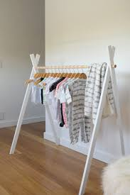 build a clothes for boys diy kids teepee clothing rack kids clothing display and clothes