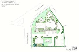 site plan unveiled for first universalist church of southold