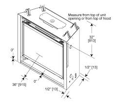 Fireplace Insert Dimensions by Heat U0026 Glow Sl 950 Ultimate Slim Line Gas Fireplace Direct Vent