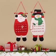 aliexpress com buy christmas advent calendar craft santa claus