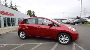nissan versa 2015 youtube 2015 nissan versa note sl red brick fl352156 kent tacoma