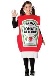 Food Costumes Kids Food Drink Halloween Costume Ideas 25 Ketchup Costume Ideas Funny Fancy