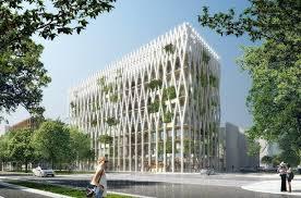 immeuble de bureaux l immeuble de bureaux en structure bois le plus haut de dans
