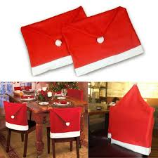christmas chair back covers christmas decoration christmas chair covers hotel chair backrest