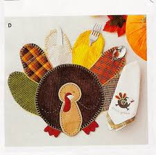 turkey placemats thanksgiving before christmas pork chop tuesday