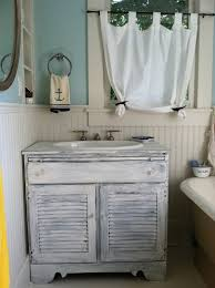 Beach Style Bathroom Vanity by Nautical Themed Bathroom Dact Us