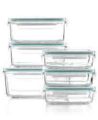 Martha Stewart Kitchen Collection Glass Storage Containers With Glass Lids That Lock Storage