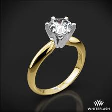 6 prong engagement ring 6 prong classic solitaire 583