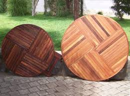round wooden folding table round wooden folding table custom patio picnic table