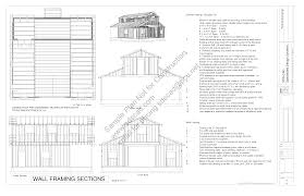 Workshop Floor Plans Download Free Workshop Barn Plan G313 36 U0027 X 36 U0027 10 U0027 Garage