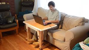 Laptop Sofa Desk Knock Laptop Table For Standup Desk