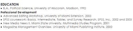 Bachelor Degree Resume Examples Of A Bachelor U0027s Degree On A Resume Susan Ireland Resumes