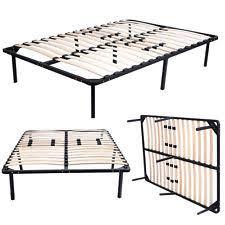 sumptuous design ideas metal bed frame slats king size modern