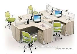 bureau poste bureau bureau table de bureau 4 personnes partition bureau poste