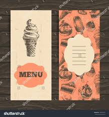 menu restaurant cafe bar coffeehouse vintage stock vector