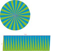fläche kreis flächeninhalt geometrie in der ebene kreis lösungen
